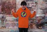 """90's COLLECTION: Mystery Ball"" Unisex Hoodie (Orange)"