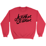 """Curly Another October Design"" - Multiple Colors Available: Unisex Crewneck Sweatshirt"