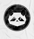 """White AO Patreon Panda"" - American Apparel Tee"