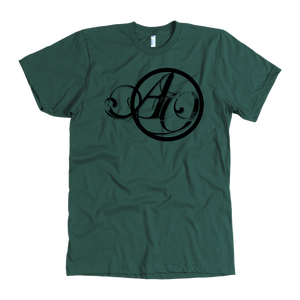 """Green Another October Script Design"" - American Apparel Tee"