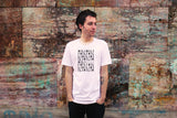 """COUCH COVERS: MiLi"" American Apparel T-Shirt (White)"