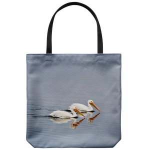 """NICK WILLIAMS: Pelicans"" Tote Bag"