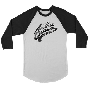 """ANOTHER OCTOBER: Established Script"" Canvas Unisex Raglan Baseball Tee"