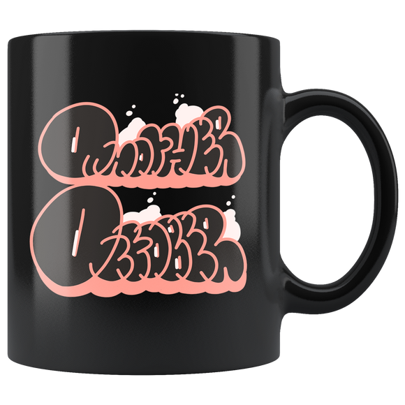"""DVCK: Another October Black Bubbles"" - 11oz Black Coffee Mug"