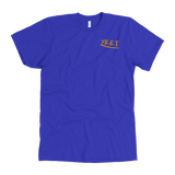 """AO APPAREL: Yeet Graffiti"" American Apparel T-Shirt (Blue)"