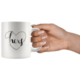 """His and Hers Mugs: Hers - 11oz Mug"