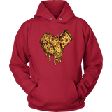 """AO APPAREL: You Have a Pizza My Heart"" Unisex Hoodie (Multiple Colors Available)"