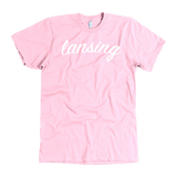 """AO APPAREL Lansing"" American Apparel T-Shirt (Multiple Colors Available)"