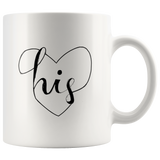 """His and Hers Mugs: His - 11oz Mug"