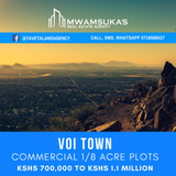 1/8 commercial plots at Voi town