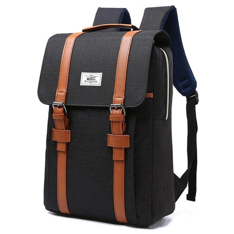 Men Vintage 2018 Women Canvas Backpacks School Bags for Teenagers Boys Girls Large Capacity Laptop Backpack Fashion Men Backpack