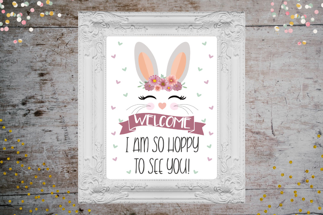 Some Bunny Birthday Printable Party Package | Bunny Birthday Full Party Set, Digital Download, designLEE Studio, designLEE Studio