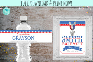 Court of Honor Invitation for a Eagle Scout | Party Package, Graduation Invite, designLEE Studio, designLEE Studio