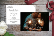Load image into Gallery viewer, Postcard Save the Date | Wedding Save The Dates, Save the Date, designLEE Studio, designLEE Studio