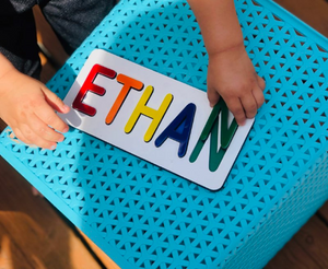 Personalized Baby Name Puzzle | Fun Educational Toddler Toy