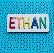 Load image into Gallery viewer, Personalized Baby Name Puzzle | Fun Educational Toddler Toy