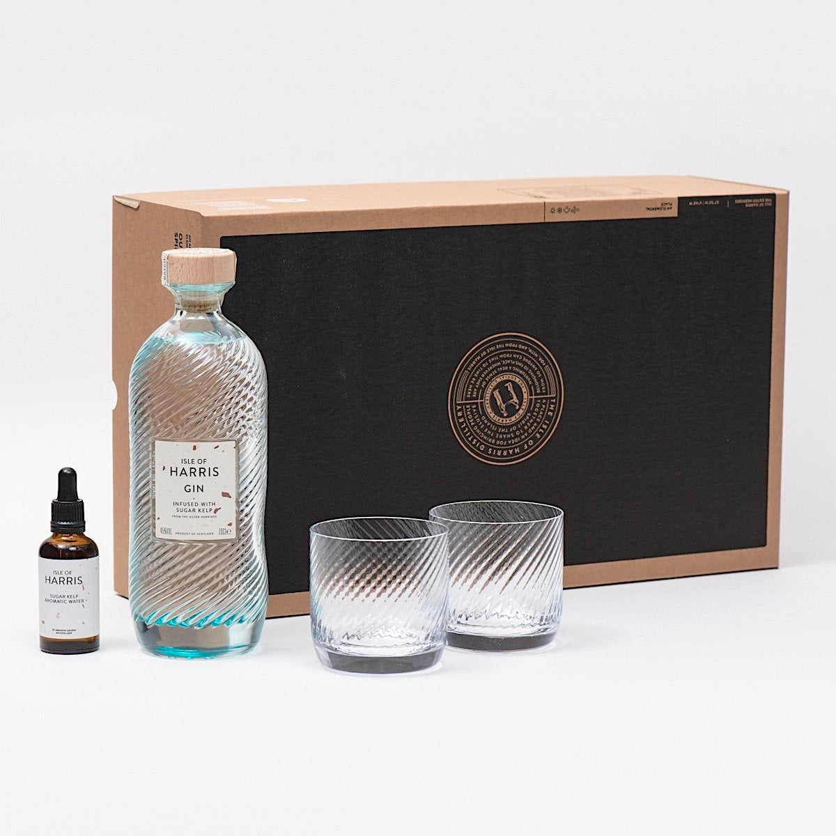 The Harris Gin Serve + Aromatic Water Gift Set