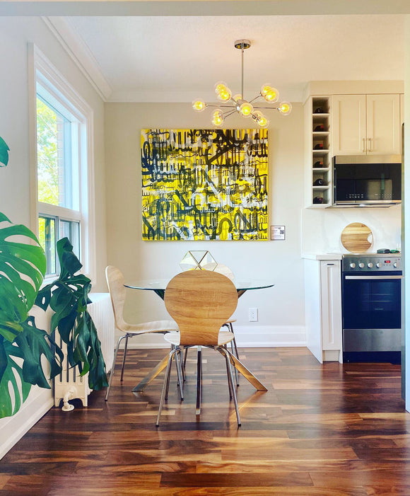 Using Original Art to Stage a Property