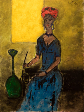 Lady with a Hookah