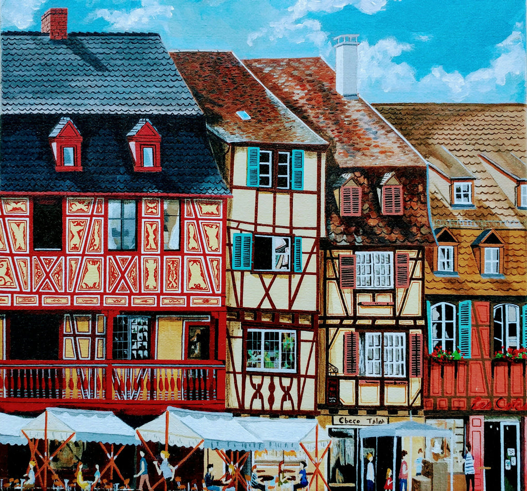 Old town in colmar 3