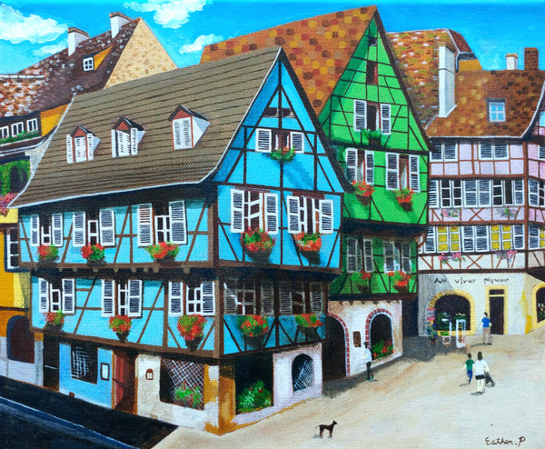 Old town in colmar 1