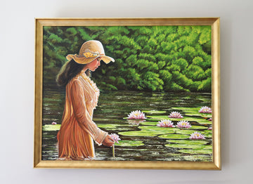 Among the Water Lillies