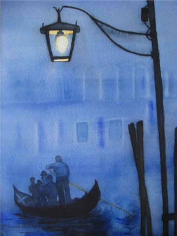 A Misty Night in Venice