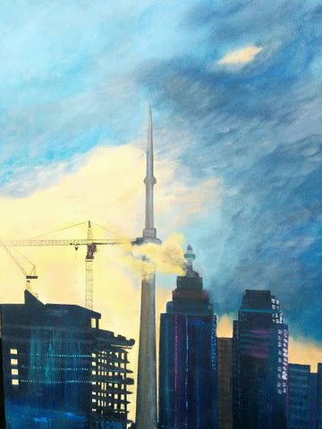 CNTower Twilight