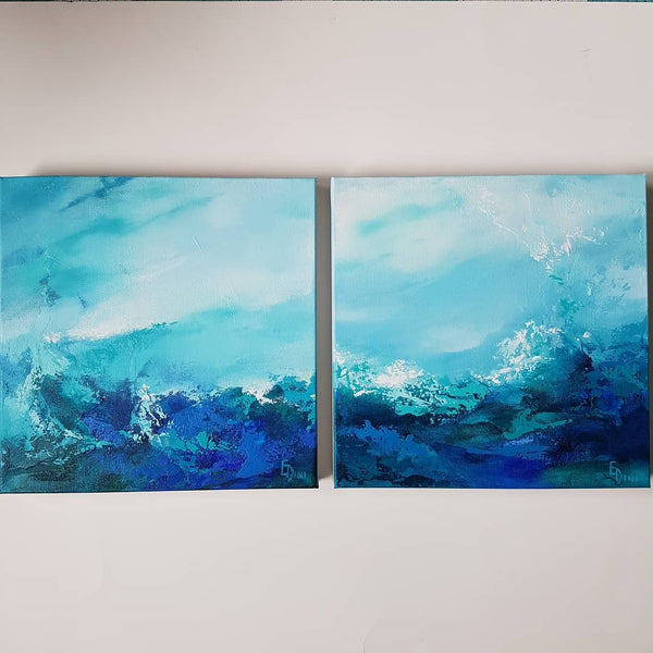 Crashing Waves #1 and # 2