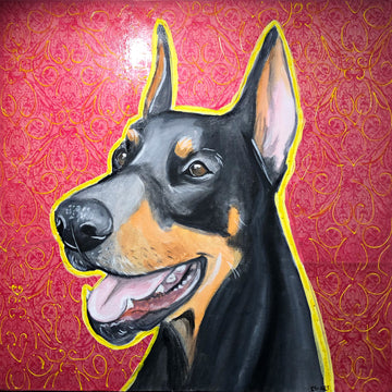 Jack the Doberman