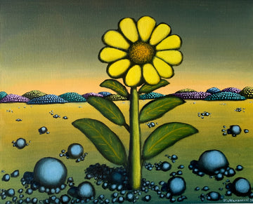Yellow Flower in the Prairies