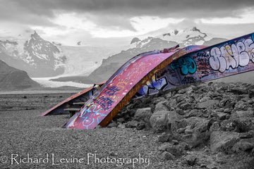 Graffiti by the Glacier