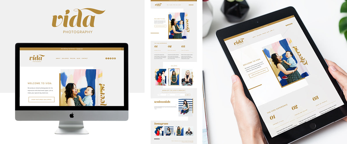 Vida Website Template
