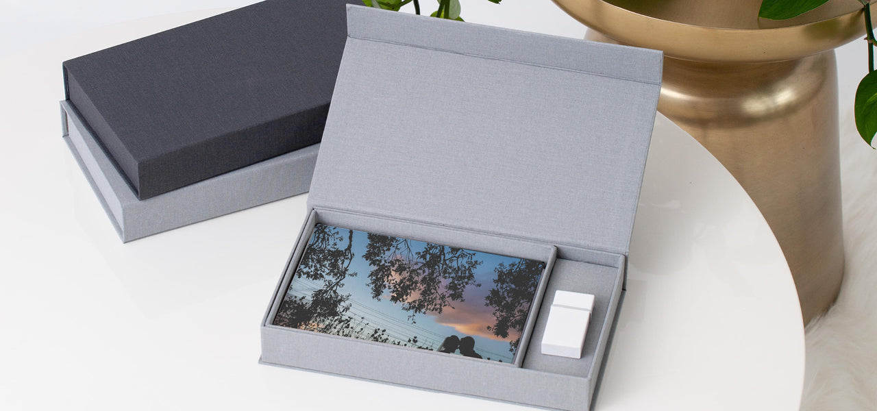 Premium Keepsake Print and USB Box