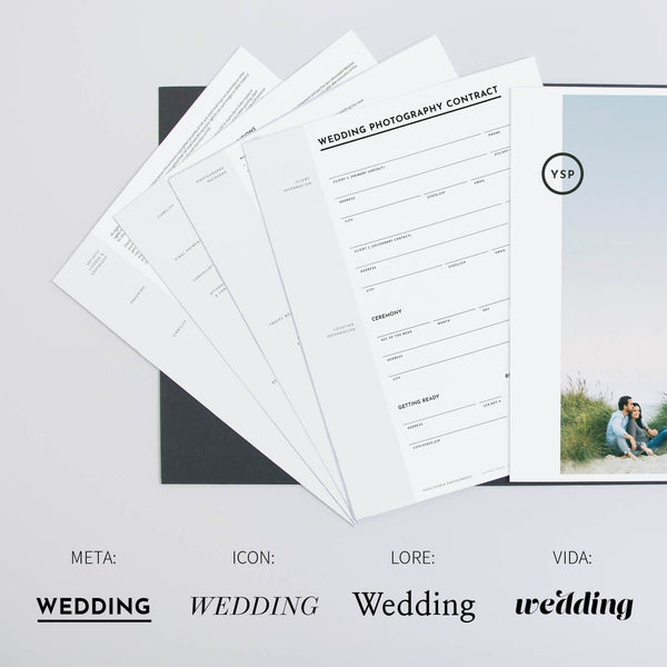 Wedding Photography Contract.Essential Wedding Contract Forms