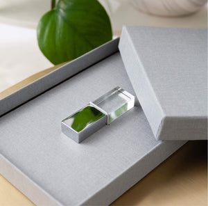 Luxe Canvas USB Presentation Box in