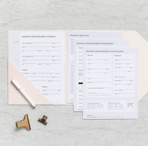 ICON - ESSENTIAL WEDDING FORMS BUNDLE