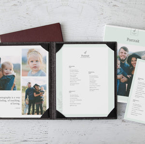 Portrait Price Menu Suite