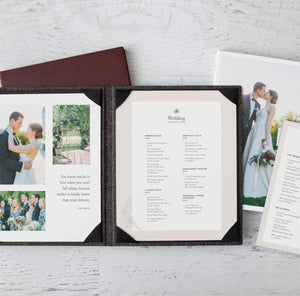 """Wedding"" Price Menu Suite"