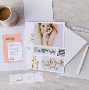 Boudoir Client Welcome Packets