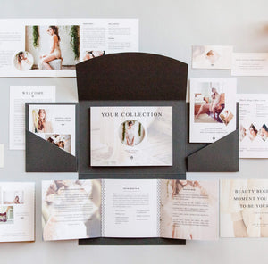 Boudoir Welcome Packet: Modern Romance Edition