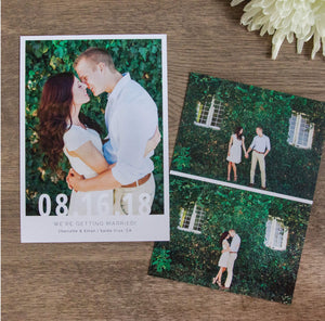 Save the Date Cards: A Modern Affair