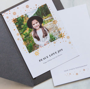 Holiday Cards: Gilded Greetings Collection