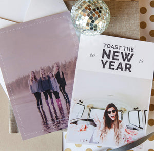 New Year's Cards: Simply Elegant Collection