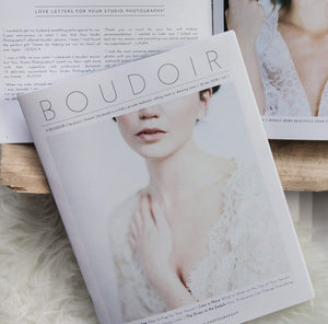 Luxe Boudoir Photography Magazine