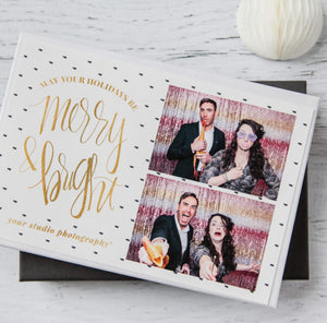Photo Booth Templates: Holiday Sparkle Collection