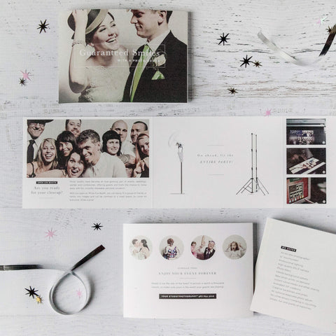 Photo Booth Marketing Template for Photographers – Design Aglow