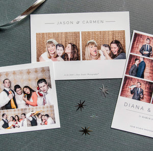 Photo Booth Templates: Modern Minimalist Collection