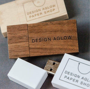 USB Drives - Wood
