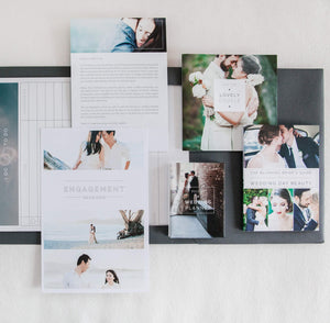 Wedding Welcome Packet: Modern Minimalist Edition
